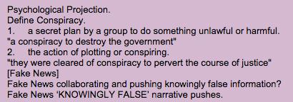 Q conspiracy?